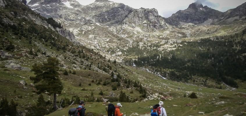Tour du Vignemale: Bachimaña – Wallon